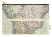1807 Cary Map Of South America Carry-all Pouch