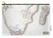 1809 Pinkerton Map Of Southern Africa Carry-all Pouch