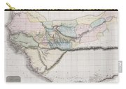 1813 Pinkerton Map Of Western Africa Carry-all Pouch