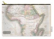 1813 Thomson Map Of Africa Carry-all Pouch