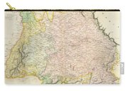 1814 Thomson Map Of Bavaria Germany Carry-all Pouch