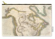 1814 Thomson Map Of North America Carry-all Pouch