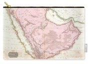 1818 Pinkerton Map Of Arabia And The Persian Gulf Carry-all Pouch