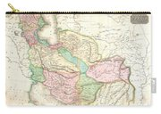 1818 Pinkerton Map Of Persia  Carry-all Pouch