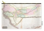 1818 Pinkerton Map Of Western Africa  Carry-all Pouch