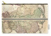 1820 Lizars Wall Map Of Asia Carry-all Pouch