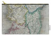 1822 Butler Map Of Ireland Carry-all Pouch