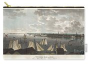 1824 Klinkowstrom View Of New York City From Brooklyn  Carry-all Pouch by Paul Fearn