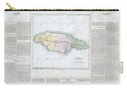 1825 Carez Map Of Jamaica  Carry-all Pouch