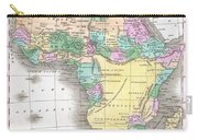 1827 Finley Map Of Africa Carry-all Pouch