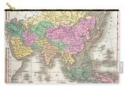 1827 Finley Map Of Asia And Australia Carry-all Pouch