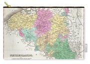 1827 Finley Map Of Belgium And Luxembourg Carry-all Pouch
