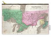 1827 Finley Map Of Canada  Carry-all Pouch