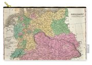 1827 Finley Map Of Germany Carry-all Pouch