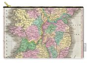 1827 Finley Map Of Ireland  Carry-all Pouch