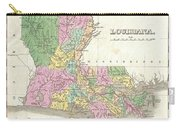 1827 Finley Map Of Louisiana Carry-all Pouch