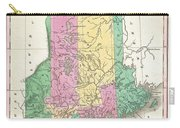 1827 Finley Map Of Maine Carry-all Pouch