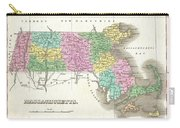 1827 Finley Map Of Massachusetts Carry-all Pouch