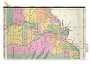 1827 Finley Map Of Missouri Carry-all Pouch