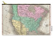 1827 Finley Map Of North America Carry-all Pouch
