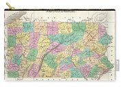 1827 Finley Map Of Pennsylvania Carry-all Pouch