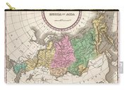 1827 Finley Map Of Russia In Asia Carry-all Pouch