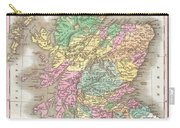 1827 Finley Map Of Scotland Carry-all Pouch