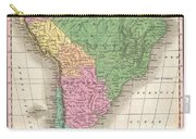1827 Finley Map Of South America Carry-all Pouch