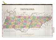 1827 Finley Map Of Tennessee Carry-all Pouch