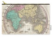 1827 Finley Map Of The Eastern Hemisphere  Carry-all Pouch