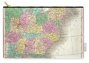 1827 Finley Map Of The United States Carry-all Pouch