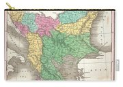 1827 Finley Map Of Turkey In Europe Greece And The Balkans Carry-all Pouch