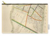 1831 Hooker Map Of New York City Carry-all Pouch