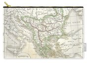 1832 Delamarche Map Of Greece And The Balkans Carry-all Pouch