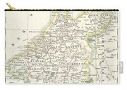 1832 Delamarche Map Of Holland And Belgium Carry-all Pouch