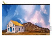 1855 Church At Cape Verde Carry-all Pouch