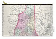 1855 Colton Map Of New Hampshire Carry-all Pouch