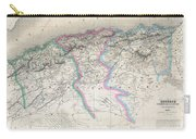 1857 Dufour Map Of Algeria Carry-all Pouch