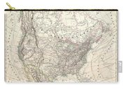 1857 Dufour Map Of North America Carry-all Pouch