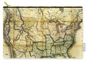 1861 United States Map Carry-all Pouch