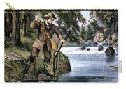 1870s Brook Trout Fishing - Currier & Carry-all Pouch