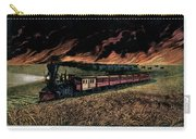 1870s Prairie Fires Of The Great West - Carry-all Pouch