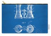 1882 Opera Glass Patent Artwork - Blueprint Carry-all Pouch