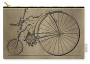1890 Bicycle Patent Carry-all Pouch