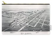 1890 Vintage Map Of Plano Texas Carry-all Pouch