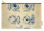 1892 Barker Camera Shutter Patent Vintage Carry-all Pouch