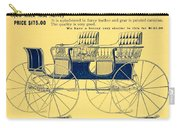 1898 - Hawley King And Company - Surrey Buggy Advertisement - Color Carry-all Pouch