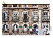 18th Century Building In Lisbon Carry-all Pouch