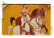 18th Century Indian Painting Carry-all Pouch