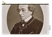 Benjamin Disraeli (1804-1881) Carry-all Pouch